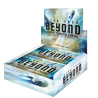 Star Trek Beyond Movie Cards - Box (24 Packs)