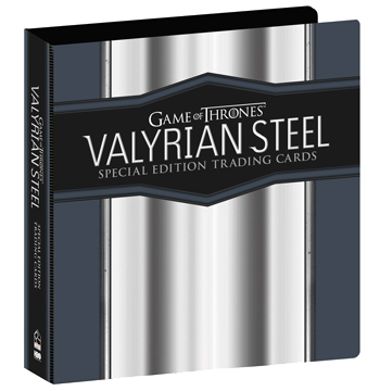 2017 Game of Thrones Valyrian Steel Album