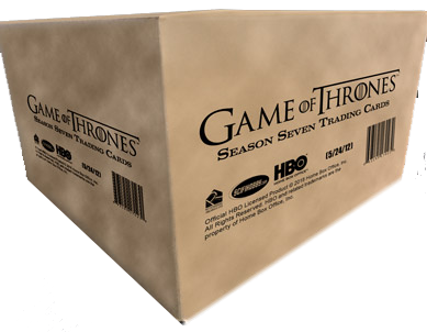 2018 Game of Thrones Season 7 - Case of Cards (12 Boxes)