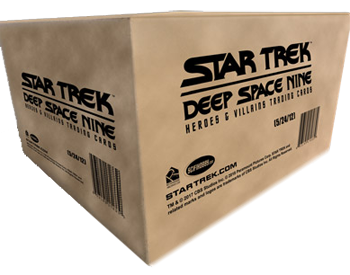 2018 Star Trek DS9 Heroes & Villains Case (12-Box)