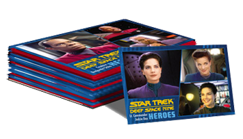 2018 Star Trek DS9 Heroes & Villains Set (100 Base Cards)