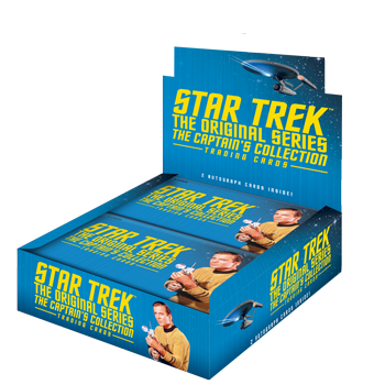 2018 Star Trek TOS Captain's Collection - Box (24 Packs)