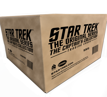 2018 Star Trek TOS Captain's Collection - Case (12 Boxes)