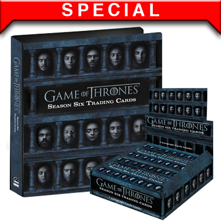 2017 Game of Thrones Season 6 Box and Binder Combo