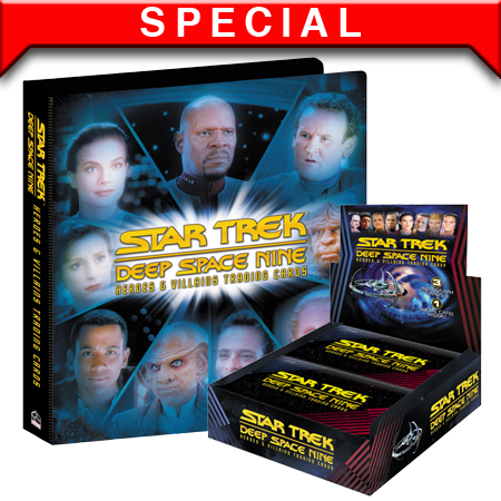 2018 Deep Space Nine H&V Box and Binder Combo