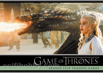 Game of Thrones Season 5 Promo Card P1