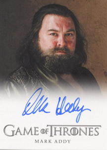 Mark Addy as King Robert Baratheon (Full-Bleed) <FONT COLOR=BLUE SIZE=-1>Limited  (Lower End) </FONT>