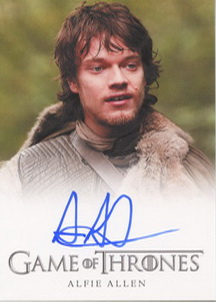 Alfie Allen  as Theon Greyjoy (Full-Bleed) <FONT COLOR=BLUE SIZE=-1>Limited  (Upper End) </FONT>