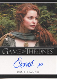 Esme Bianco as Ros (Bordered) <FONT COLOR=BLUE SIZE=-1>Limited  (Upper End) </FONT>