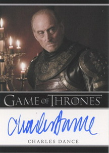 Charles Dance as Tywin Lannister (Bordered) <FONT COLOR=BLUE SIZE=-1>Limited  (Lower End) </FONT>