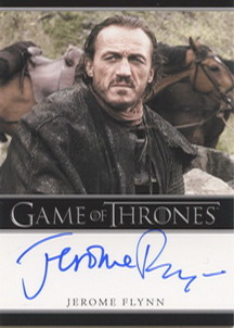 Jerome Flynn as Bronn (Bordered) <FONT COLOR=BLUE SIZE=-1>Limited  (Upper End) </FONT>