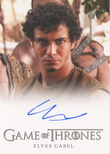 Elyes Gabel as Rakharo (Full-Bleed) <FONT COLOR=BLUE SIZE=-1>Limited  (Upper End) </FONT>