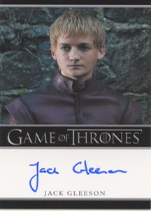 Jack Gleeson as Prince Joffrey Baratheon (Bordered) <FONT COLOR=BLUE SIZE=-1>Limited  (Upper End) </FONT>