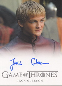 Jack Gleeson as Prince Joffrey Baratheon (Full-Bleed) <FONT COLOR=BLUE SIZE=-1>Limited  (Upper End) </FONT>