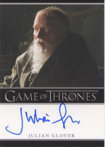 Julian Glover as Grand Maester Pycelle (Bordered) <FONT COLOR=BLUE SIZE=-1>Limited  (Upper End) </FONT>