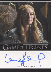 Lena Headey as Queen Cersei Lannister (Bordered) <FONT COLOR=BLUE SIZE=-1>Limited  (Lower End) </FONT>