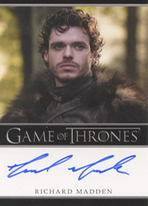 Richard Madden as Robb Stark (Bordered) <FONT COLOR=BLUE SIZE=-1>Limited  (Lower End) </FONT>