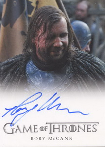 Rory McCann as Sandor Clegane <U><I>The Hound</I></U> (Full-Bleed) <FONT COLOR=BLUE SIZE=-1>Limited  (Upper End) </FONT>