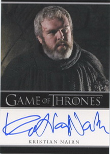 Kristian Nairn as Hodor (Bordered) <FONT COLOR=BLUE SIZE=-1>Limited  (Upper End) </FONT>