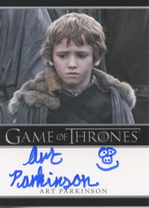 Art Parkinson  as Rickon Stark  (Bordered) <FONT COLOR=BLUE SIZE=-1>Limited  (Lower End) </FONT>