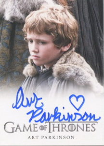 Art Parkinson  as Rickon Stark  (Full-Bleed) <FONT COLOR=BLUE SIZE=-1>Limited  (Lower End) </FONT>