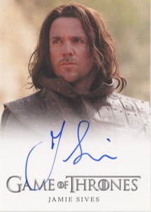 Jamie Sives as Jory Cassel (Full-Bleed) <FONT COLOR=BLUE SIZE=-1>Limited  (Upper End) </FONT>