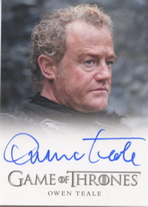 Owen Teale as Alliser Thorne (Full-Bleed) <FONT COLOR=BLUE SIZE=-1>Limited  (Upper End) </FONT>