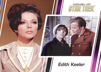 Women of Star Trek Promo Card P1