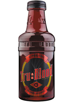 True Blood Bottle Art Card