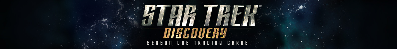 Star Trek Discovery Season One trading cards