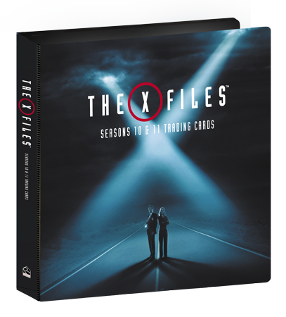The X-Files Seasons 10 & 11 Trading Cards - Album