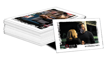 The X-Files Seasons 10 & 11 Trading Cards - Base Set