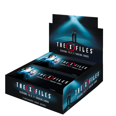 The X-Files Seasons 10 & 11 Trading Cards - Box (24 Packs)