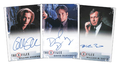 The X-Files Archives Classic Autographs