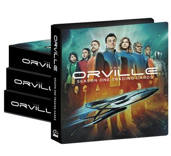 2019 The Orville Season 1 Trading Cards Album Case