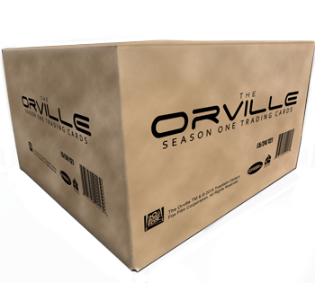 2019 The Orville Season 1 Trading Cards - Case (12 Boxes)