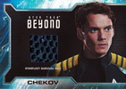 Star Trek Beyond Alternate Chekov Relic Card SR8a
