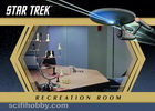 Star Trek TOS Captain's Log Enterprise Recreation Room