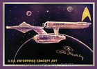 Star Trek: TOS 50th Anniversary Enterprise Concept Art E10
