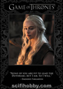 Game of Thrones Season Six Trading Cards