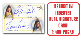 Randomly Inserted Dual Autograph Card